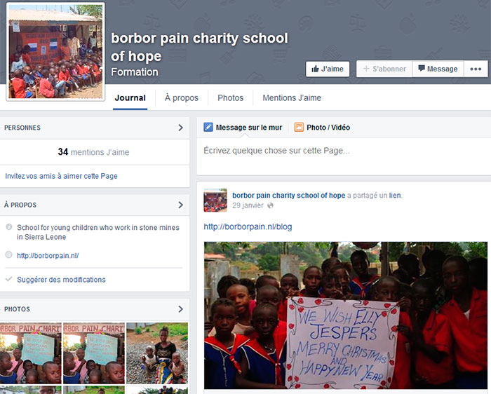 Borbor Pain School of Hope